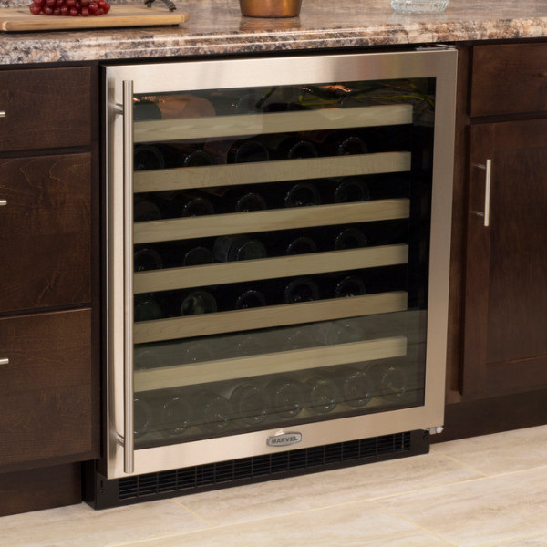 "Marvel 30"" Single Zone Wine Cellar-312"