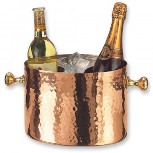 Old Dutch Copper Wine/Champagne Cooler Double Bottle