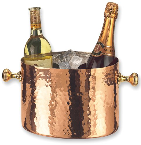 Old Dutch Copper Wine/Champagne Cooler Double Bottle-253