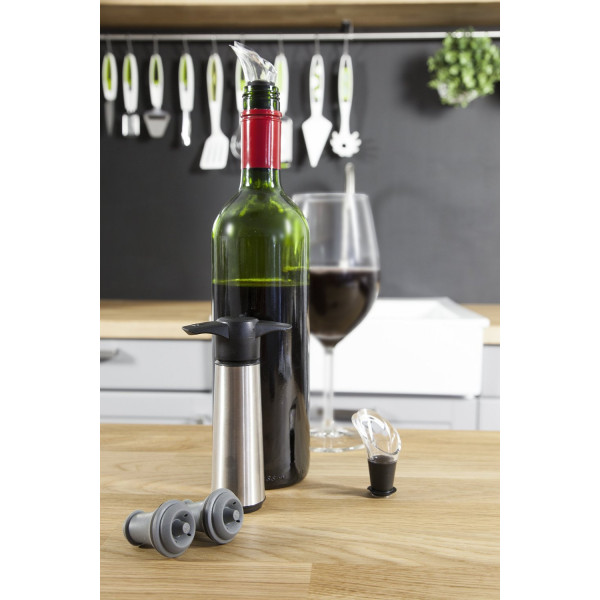 Vacuvin Wine Saver Stainless Steel Gift Set-272