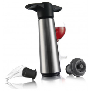 Vacuvin Wine Saver Stainless Steel Gift Set