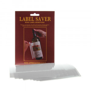 20pk Wine Saver Wine Label Removers