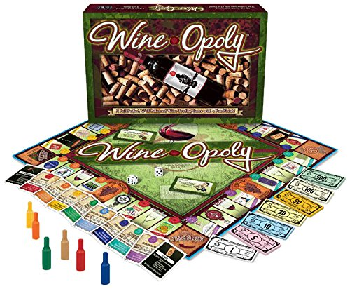 Wine-Opoly Monopoly Board Game-276