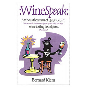 WineSpeak: Wine Tasting Descriptors
