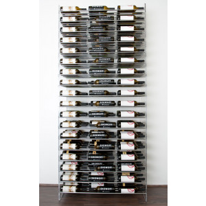 Evolution Series 8 Metal and Acrylic Wine Tower (162 to 648 bottles)
