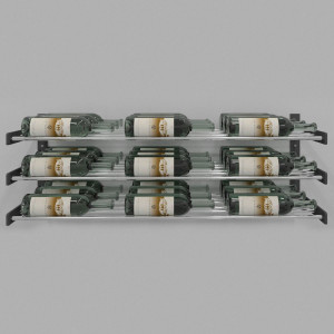 Evolution Series Wine Wall 15″ Wall Mounted Wine Rack (9 to 27 bottles)