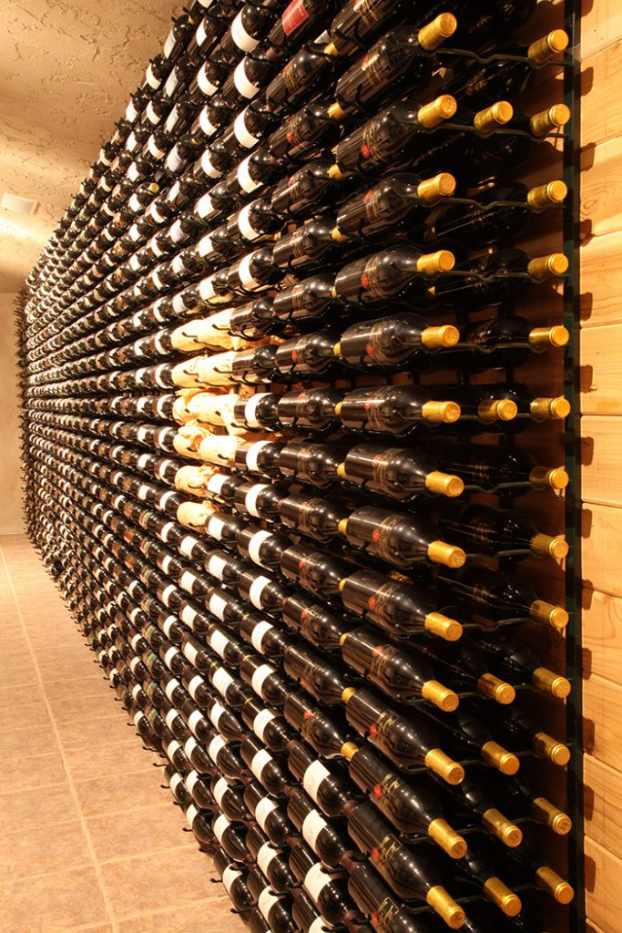 Wine Wall for Wine Store