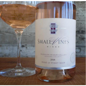 2018 Small VinesRussian River Valley Rose of Pinot Noir
